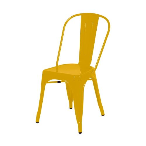 Aspen yellow metal assembled chair (sold in pairs) ASCH10Y
